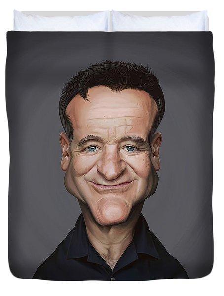 Celebrity Sunday - Robin Williams Duvet Cover