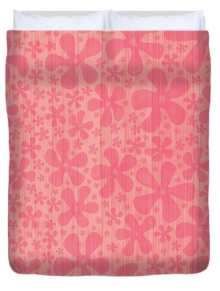 Tropical Floral Pattern Duvet Cover