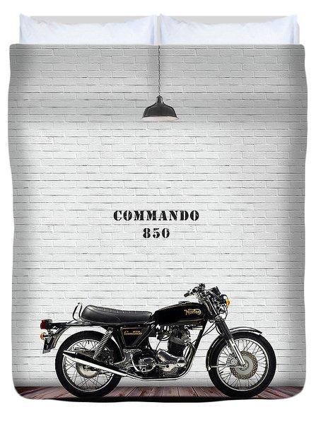 Norton Commando 1974 Duvet Cover
