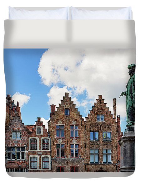 As Eyck Can Duvet Cover