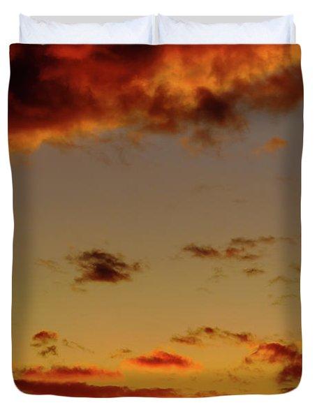 As The Sun Touches Duvet Cover