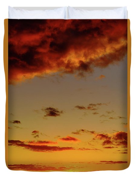 As The Sun Touches Duvet Cover
