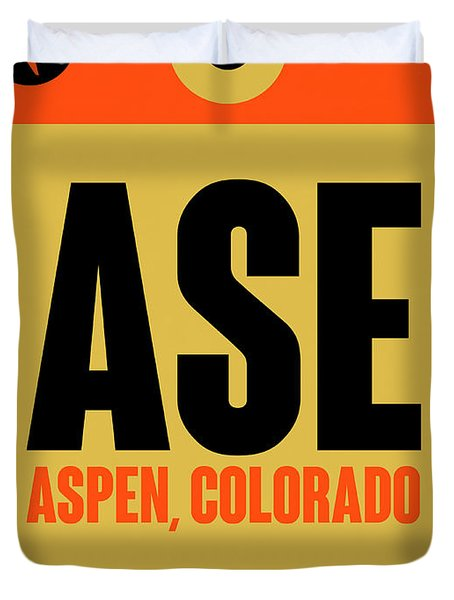 Ase Aspen Luggage Tag I Duvet Cover
