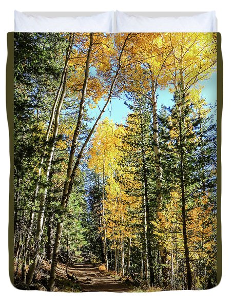 Aspen Trail Duvet Cover