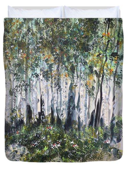 Aspenwood Duvet Cover