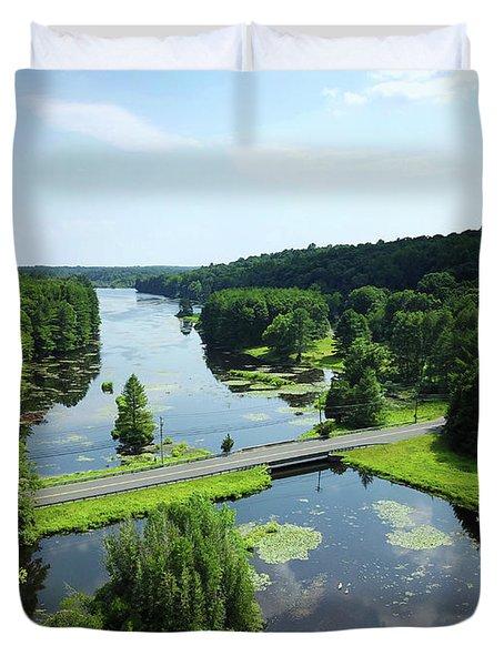 Aspetuck Reservoir Duvet Cover