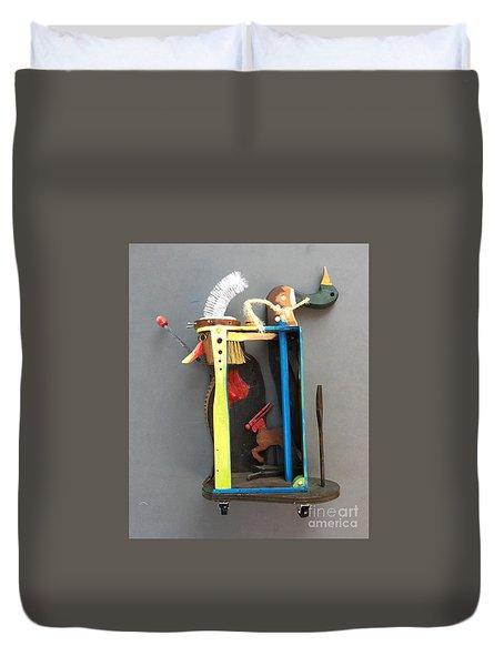 Assemblage #3 Duvet Cover
