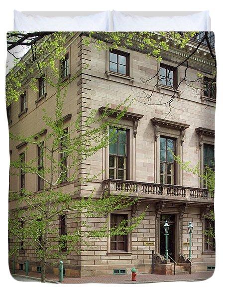 Athenaeum Exterior Duvet Cover