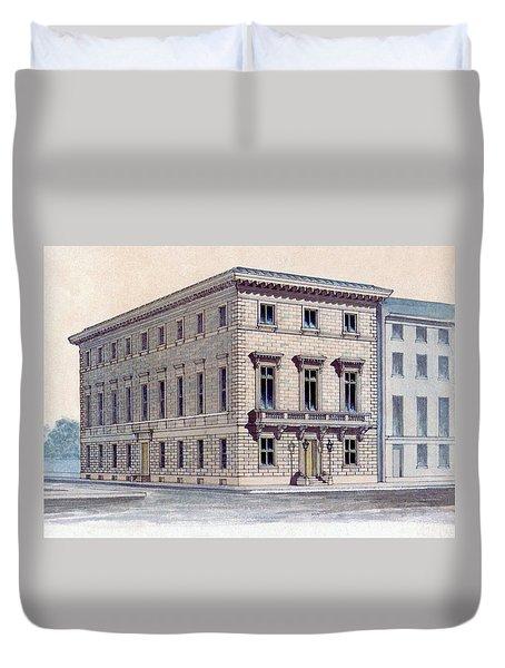 Athenaeum Perspective Duvet Cover