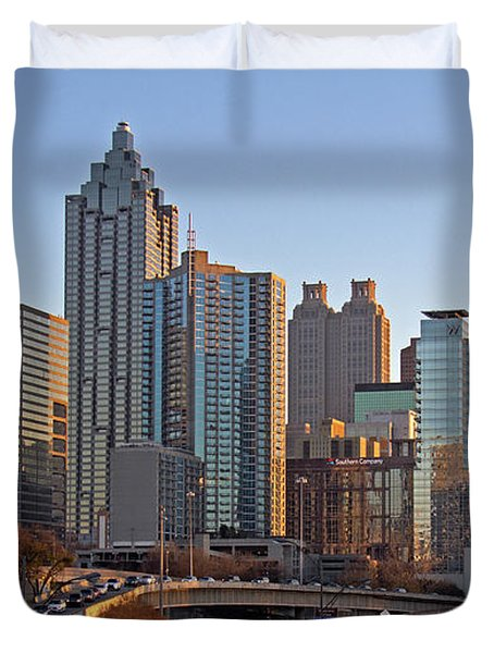 Atlanta - Downtown View Duvet Cover