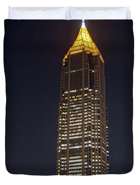 Atlanta, Georgia - Bank Of America Building Duvet Cover
