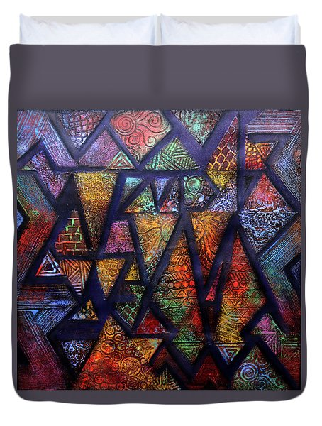 Attractive Mosaic  Duvet Cover