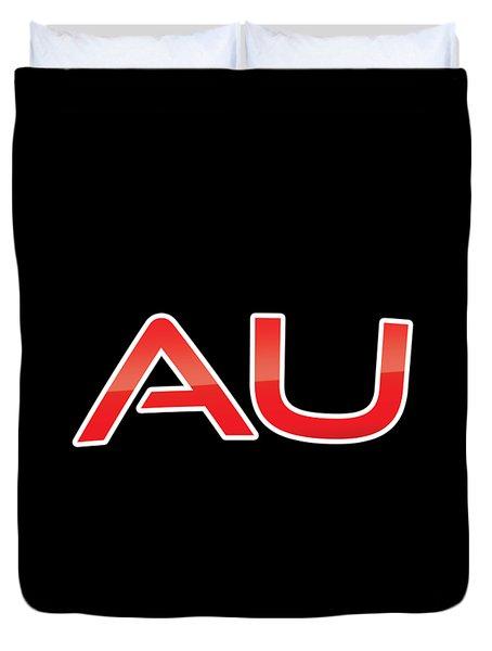 Au Duvet Cover