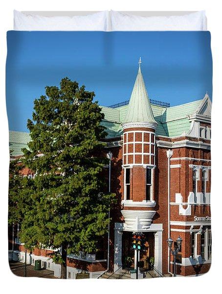 Augusta Cotton Exchange - Augusta Ga Duvet Cover