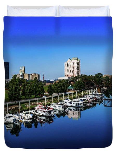 Augusta Ga Savannah River 2 Duvet Cover