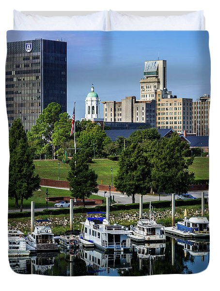 Augusta Ga Savannah River 3 Duvet Cover
