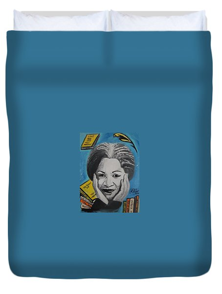 Author Toni Duvet Cover