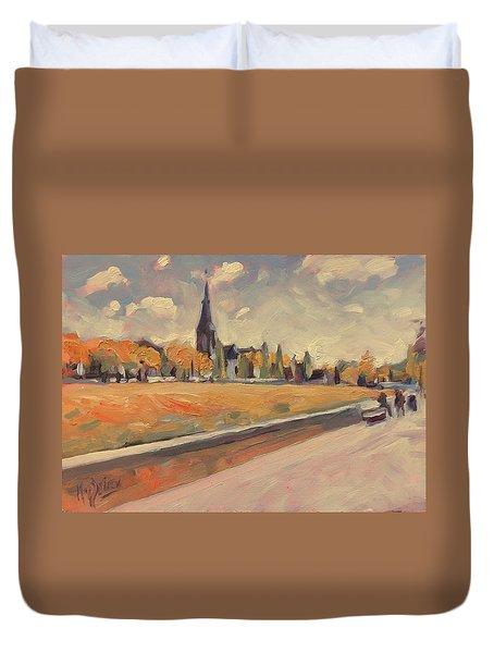 Autumn Along The Griend Duvet Cover