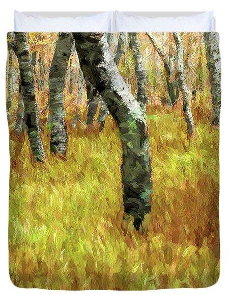 Autumn At Craggy Gardens Ap Duvet Cover