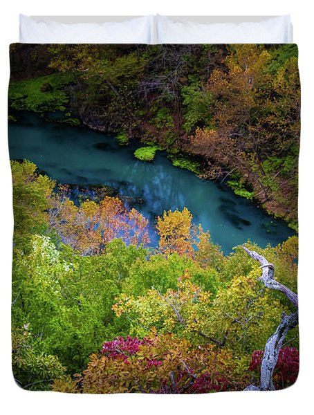 Autumn At Ha Ha Tonka State Park Duvet Cover
