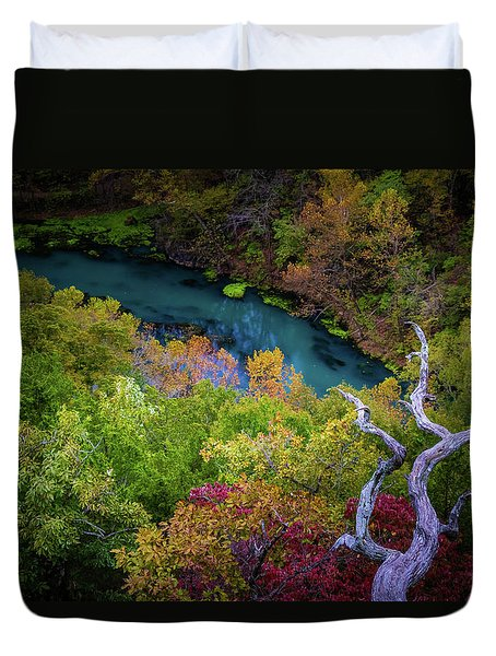 Autumn At Ha Ha Tonka State Park Duvet Cover