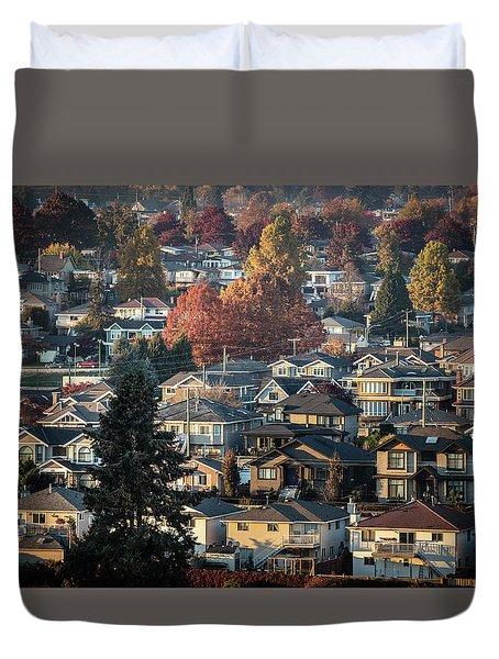 Autumn At Home Duvet Cover