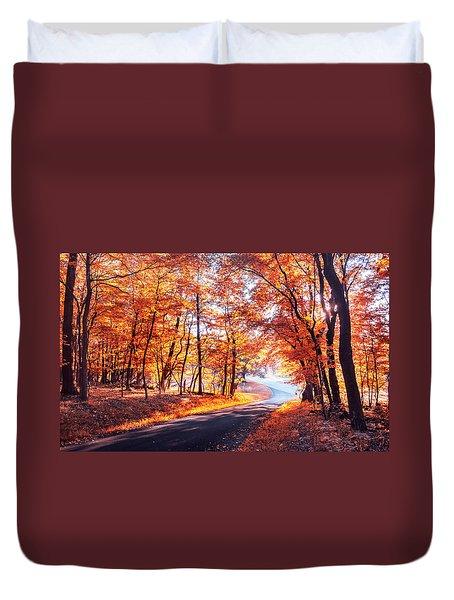 Autumn Calling Duvet Cover