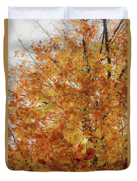 Autumn Explosion 1 Duvet Cover