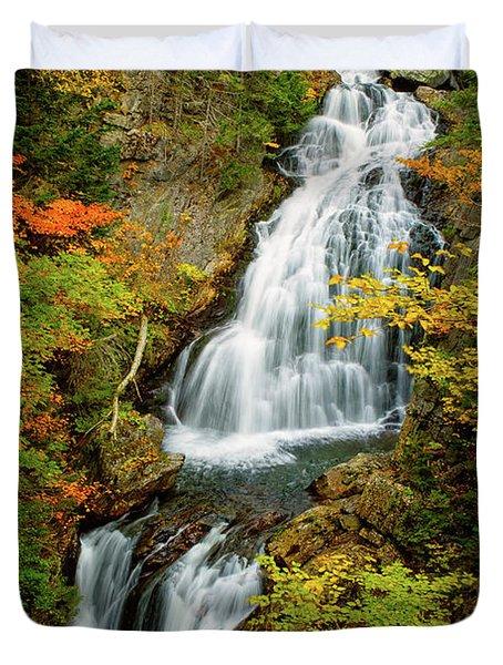 Autumn Falls, Crystal Cascade Duvet Cover