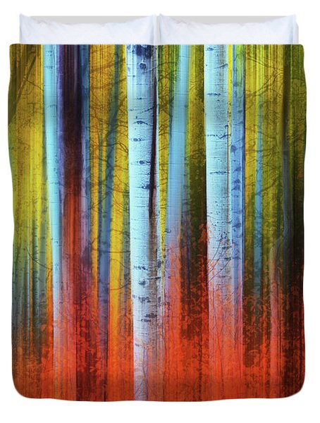 Autumn In Color Duvet Cover