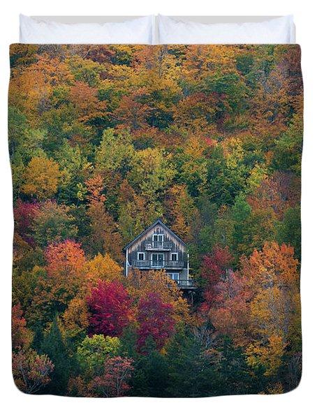 Autumn In Maine Duvet Cover