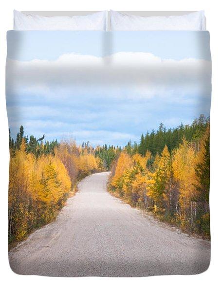 Autumn In Ontario Duvet Cover