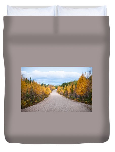 Autumn In Ontario Duvet Cover