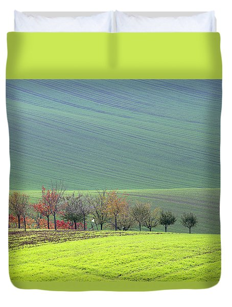 Autumn In South Moravia 18 Duvet Cover