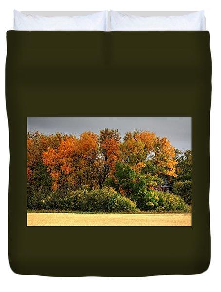 Autumn Is Nigh  Duvet Cover