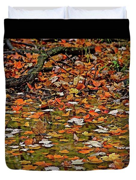 Autumn Leaves Duvet Cover