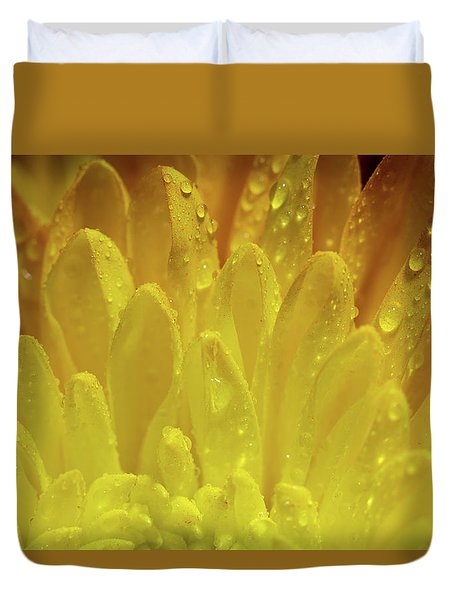 Autumn Macro-1 Duvet Cover