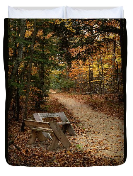 Autumn Meetup Duvet Cover