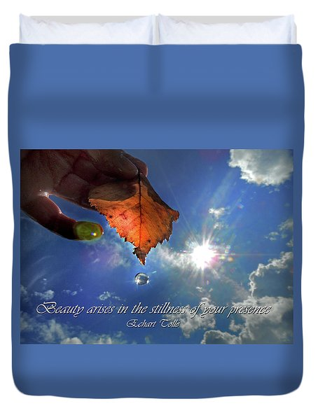 Autumn Moment Duvet Cover