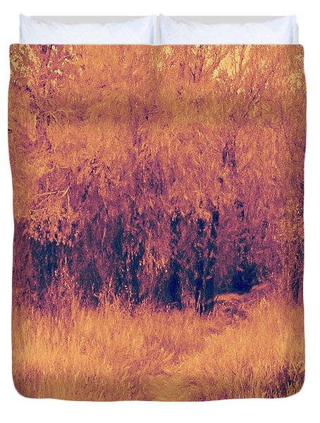 Autumn Mystery Duvet Cover