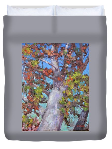 Autumn Oak Duvet Cover