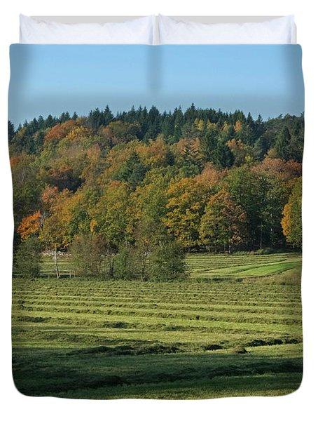 Autumn Scenery Duvet Cover