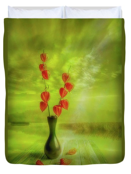 Autumn Still Life 2 Duvet Cover