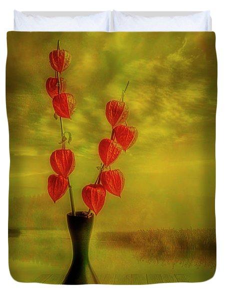 Autumn Still Life 3 Duvet Cover