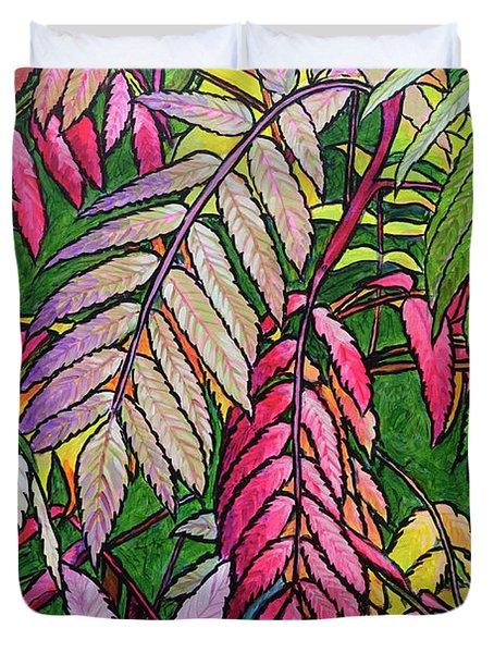 Autumn Sumac Duvet Cover