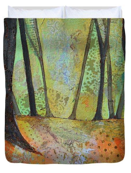 Autumn's Arrival I Duvet Cover