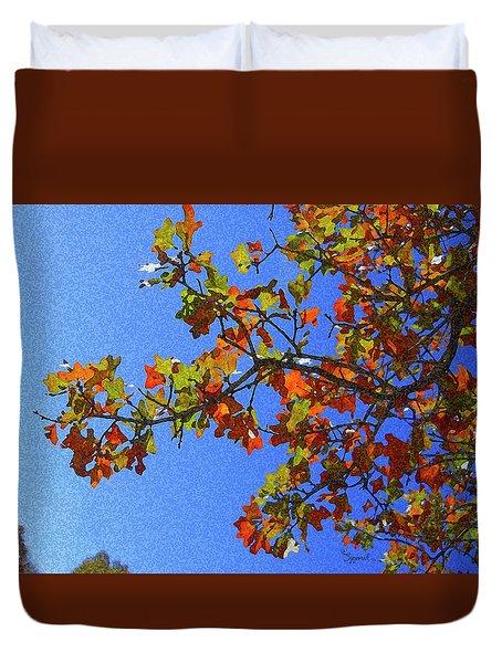 Autumn's Colors Duvet Cover