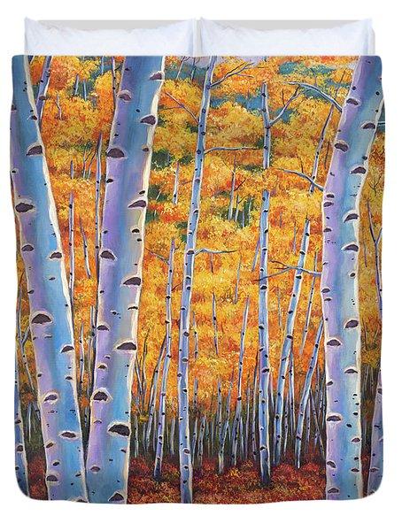 Autumn's Dreams Duvet Cover