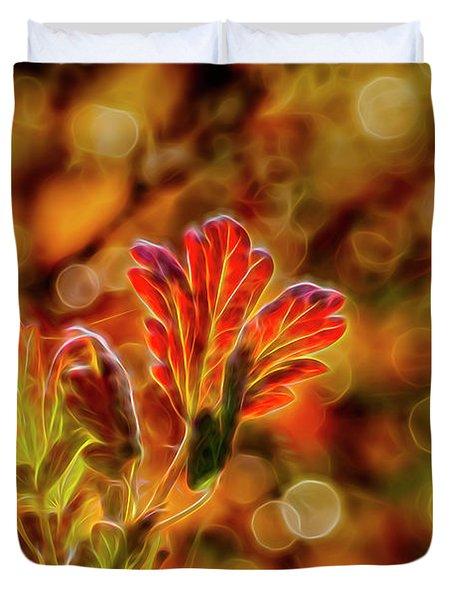 Autumn's Glow 2 Duvet Cover