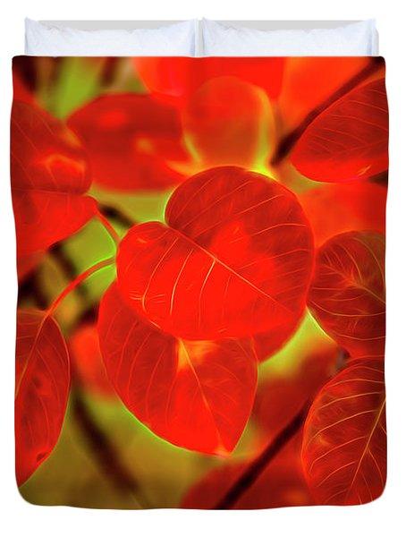 Autumn's Glow Duvet Cover